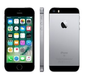 NEW SPACE GRAY VERIZON GSM UNLOCKED 32GB APPLE IPHONE SE SMART PHONE JQ44 B