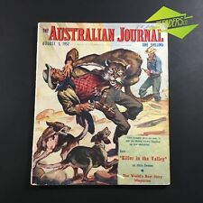 AUG 1952 'THE AUSTRALIAN JOURNAL' STORIES ARTICLES ADVERTISMENTS