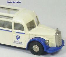 1:87 mercedes autocar o 5000 azul genciana Brekina 5132 nuevo embalaje original