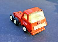 RESTORER's Vintage 1960 TONKA MINI PRESSED STEEL SEMI TRACTOR TRAILER CAB Orange