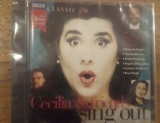 """The Opera Company """"Cecilia & Friends Sing Out"""" CD Classic Fm  BRAND NEW & SEALED"""