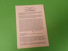 Pool of Radiance Apple II Tarjeta de inicio rápido-Advanced Dungeons & Dragons