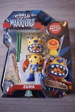 WORLD OF WARRIORS BATTLE LEGENDS ZUMA BRAND NEW FREE UK DELIVERY AGE 4+