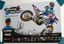 Jeremy martin#1  signed  poster ,Ricky carmichael,ryan dungey,chad reed