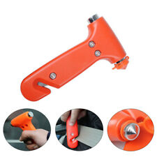 EMERGENCY Car Glass Hammer & Window Breaker Safety Escape Tool Seat Belt Cutter