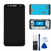 For LG X Power 2 LCD Display Touch Screen Digitizer Assembly Frame Replacement