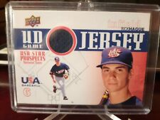 2009 Upper Deck Signature Stars USA Star Prospects UD Game Jersey Rick Hague