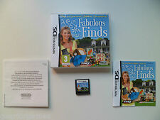 NINTENDO DS PAL GAME FABULOUS FINDS  PLAYED AND TESTED