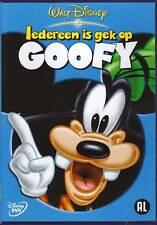 IEDEREEN IS GEK OP GOOFY WALT DISNEY DVD / gratis opbergbox bij aankoop 8 disney