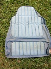 AMC FRONT SEAT BACK FACTORY COVER GREMLIN HORNET MATADOR SPIRIT BLUE