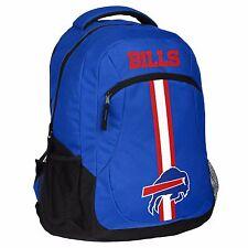 Buffalo Bills Logo Action BackPack School Bag New Back pack Gym Travel Book