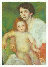 American Art Postcard, New- Mary Cassatt {After Baby's Bath, 1913}