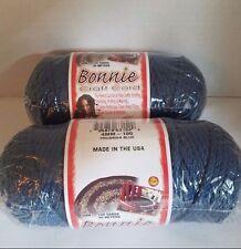 Lot 2 rolls of Prussian Blue 4mm Bonnie Braid Braided Macrame Craft Cord 200yds