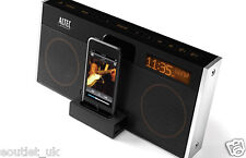 More details for altec lansing m402r moondance glow stereo alarm dock speaker for ipod iphone mp3
