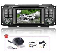 US Autoradio DVD GPS Satnav For Jeep Grand Cherokee/Liberty/Wrangler/Dodge