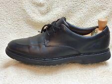Clarks mens Comfort shoes Leather Black UK 9 EUR 43