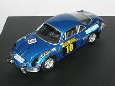 Trofeu Models 1:43 828 Alpine Renault A110 4th Rally San Remo 1971 Darniche