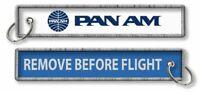 Pan Am-Remove Before Flight Keyring