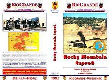 """VHS - """" Rocky Mountain EXPREß - Durango & Silverton Railroad """" -- Rio Grande"""