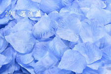 2000pcs Silk Flower Rose Petals Wedding Party Decorations Various Colors