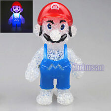 New Super Mario Figures Color Changing Night Light Lamp Decor Kids Toy