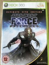 STAR WARS THE FORCE ULTIMATE SITH EDITION XBOX 360 ANGLAIS COMPLET RARE