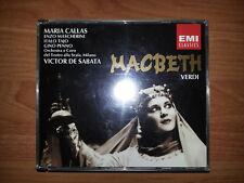 VERDI MACBETH DoCD Maria Callas  EMI Classics Remastered 1993 Victor De Sabata