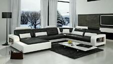 Ledersofa Wohnlandschaft XXL Ecksofa Bigsofa Design Couch Garnitur Designersofa