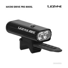 NEW Lezyne MICRO DRIVE PRO 800XL USB Rechargeable Bicycle Headlight : BLACK