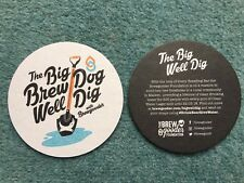 NEW - BREWDOG BREWERY BEER  MAT  THE BIG WELL DIG SOUS BOCK