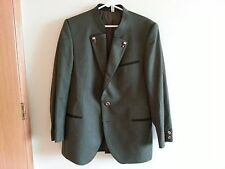 Zeiler olive green wool jacket and pants made in West Germany