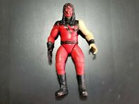 Kane w/ Chopping Action WWE 1998 Jakks Pacific Wrestling Figure FREE SHIPPING!