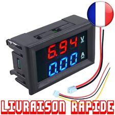 Mini Numérique Voltmètre Ampèremètre DC 100 V 10A Panneau Amp Volt Testeur LED