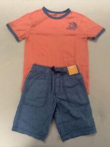NWT Boys Gymboree 2 piece Shirt Set Size 7 (M- 7/8)
