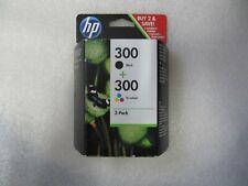 2-Pack original HP Tinten 300 Black CC640E 300 Color CC643E 07/2014 OVP Rechnung
