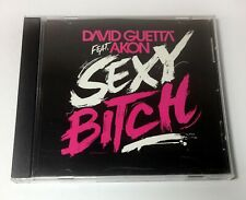"DAVID GUETTA ""Sexy B!tch"" RARE PROMO MAXI CD REMIXES Akon / Chick MINT"