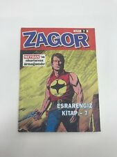 ZAGOR #7 - 1990s 90s - PROMO - Foreign Comic Book - VERY RARE - 4.5 VG+