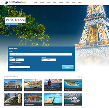 Established Travel Website Script 100% automated - Make $1 -$4/Click