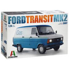 ITALERI 3687-Scala 1/24 Ford Transit Van MKII (modello in plastica kit)