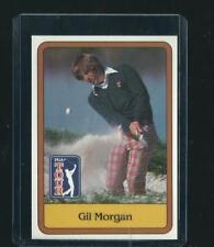 vintage GIL MORGAN pga tour GOLF CARD