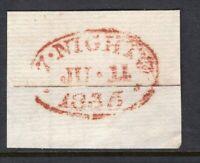Great Britain 1836 ?  pre-stamp postmark