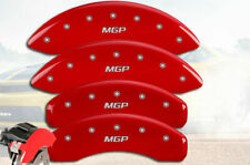 """2015-2017 Chevy Trax AWD Front + Rear Red """"MGP"""" Brake Disc Caliper Covers 4p Set"""