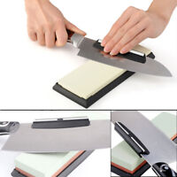 Home Kitchen Knife Sharpener Ceramic Angle Guide Clip For Whetstone Sharpening