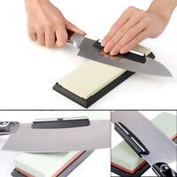 Kitchen Knife Sharpener Ceramic Angle Guide Clip Tool For Whetstone Sharpening