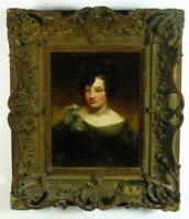 Englischer Portraitmaler, Spätfolge George Romney, 19.Jhd, Öl, Damenportrait