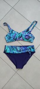 ANITA CARE Gr. 40 B Prothesen Bikini lila grün ungetragen wie NEU