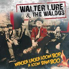WALTER LURE & THE WALDOS Wacka Lacka Boom Bop Red Vinyl (Thunders Heartbreakers
