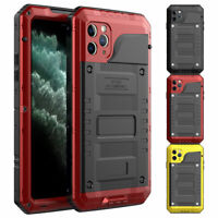 Waterproof 360 Full Body Cover Case For iPhone 11 Pro XS Max XR X 8 7 6S Plus