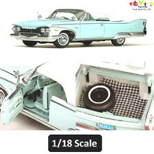Plymouth Fury Closed Convertible  1960  - White/Aqua Mist  (Sun Star H5411)