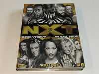 NXT GREATEST MATCHES 3-Disc WWE Wrestling DVD Set Match Collection Seth Rollins+